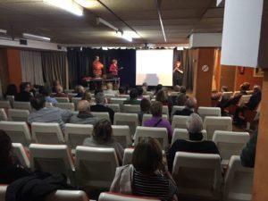Conferencia sobre Acúfenos en Asormad.